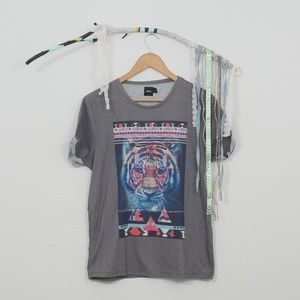 Asos Graphic Tee with Tiger